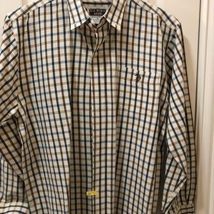 US Polo Association Big Boys Dress Shirt